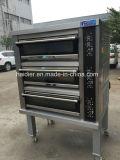 2017 China Manufactory 3 Dek 9 de Oven van de Bakkerij van de Goede Kwaliteit van de Oven van de Pizza van de Oven van het Gas van Dienbladen