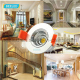 Spiegel5w Dimmable vertieftes reines weißes Projekt Handels-LED Downlight