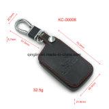 Изготовленный на заказ держатель ключа автомобиля с таможней выбивает логос и застегивает, бумажник ключа хорошего качества, ключевой случай