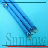 Sunbow 6mmのシリコーンのガラス繊維のスリーブを付ける黒