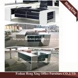 (HX-NT3235) Moderner Entwurfs-Melamin-leitende Stellung-Schreibtisch-hölzerne Büro-Möbel