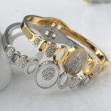 Neueste Diamant-Armband-Schmucksache-Form-Frauen-Höhlung-geöffnetes Stulpe-Armband