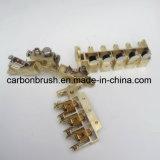 Подгонянный держатель щетки 3 углерода конструкции (12.5X32) для щетки углерода