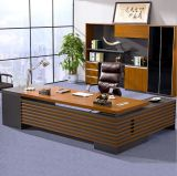 Dark Gry Modesty Painel Oak Desk Top Office Table (HX-NCD193)