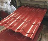 耐久および装飾的(PPGI、PPGL)鋼鉄屋根シートを波形を付けた