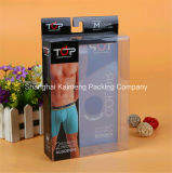 Pacote de plástico Cool Pack Pet Plastic Men's Underware Package Box