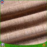 Tissu imperméable à l'eau de rideau en arrêt total de polyester d'enduit de franc de tissu de polyester tissé par textile à la maison