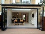 Portello di vetro di scivolamento di Frameless/portello scorrevole di vetro