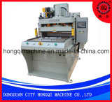 Máquina cortando do painel de toque