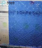 색을 칠한 파랑, 청동, 황색, 빨강, 명확한 식물상에 의하여 계산되는 장식무늬가 든 유리 제품 (FP-TP)