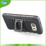 Design de qualidade superior à prova de choque estofamento combinado capa de telefone celular para Samsung S8