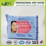 Tejidos mojados sin alcohol de los trapos mojados cosméticos del retiro para las mujeres
