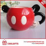 La tasse de café en céramique faite sur commande la plus neuve de forme de Bell d'étameur ambulant (CG214)
