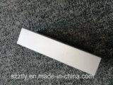 Tailles régulières anodisées de tube rectangulaire en aluminium argenté procurables