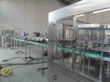 Rinserの注入口のふた締め機のブロアが付いている熱い茶飲料の充填機械類ライン