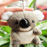 De douane Gevulde Koala Keychain van de Baby van de Pluche van het Stuk speelgoed Mini