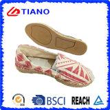Señora plana y cómoda Shoes (TN36707) de la manera del pescador de las sandalias