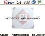 Comitati di soffitto caldi del PVC di vendita 595*595*7mm a Haining per l'Iraq