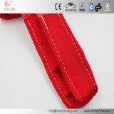 Imbracature di sollevamento rosse duplex della tessitura dell'occhio e dell'occhio per il sollevamento sicuro con l'alta qualità