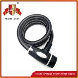 Jq8226-Q gewundener Kabel-Fahrrad-Verschluss-Motorrad-Verschluss-Sicherheits-Fahrrad-Verschluss