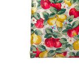 Sac à provisions imperméable à l'eau de toile de PVC d'impression florale de configuration (2293)
