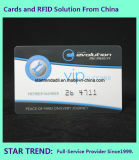 Kaarten in VIP Card met Embossment en Hico 2750OE Magnetic Strip