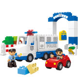 Baby-Polizeirevier-Plastik blockt Spielzeug für Kinder