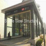 低価格の鉄骨構造の玄関ひさし
