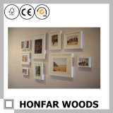 Картинная рамка искусствоа стены с древесиной для подарка семьи