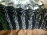 Metal de folha ondulado galvanizado do telhado