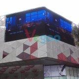 P10 옥외 조정은 임대료 LED 단말 표시 스크린 광고 설치한다