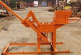 Brique manuelle de l'argile Qts1-40 faisant la machine souiller la machine de bloc