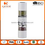 Tipo del molino - 2 en 1 amoladora manual de la sal y de pimienta