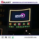 Painel impermeável ao ar livre do diodo emissor de luz P5/parede do tela/a video para anunciar com brilho elevado