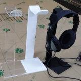 Acrylkopfhörer-Standplatz oder Kopfhörer-Halter