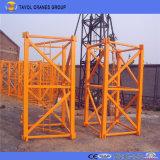 Строительное оборудование Qtz160 кран башни Topkit крана 16 тонн
