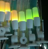 12volt bernsteinfarbiges blinkendes LED Signal-Licht mit Tonsignal-Aufsatz-Lampe für Maschine