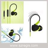 防水ヘッドセットのヘッドホーンを実行するユニバーサル耳