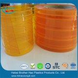 Fabricante transparente macio alaranjado amarelo da tira do PVC do Anti-Inseto