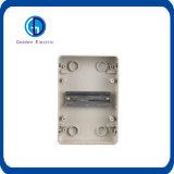 IP66 transparente e o plástico datilografam a caixa de interruptor da caixa de distribuição da potência
