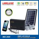 3개의 LED 전구를 가진 휴대용 태양 점화 장비가 4V에 의하여 집으로 돌아온다