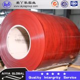 Lamina di metallo rivestita galvanizzata bobina d'acciaio ricoperta colore di colore