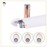 3 dans 1 dispositif portatif d'acné de laser de thérapie de lumière jaune de rouge bleu anti pour l'usage à la maison personnel