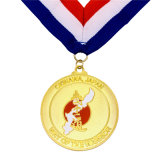 A qualidade superior personalizou a medalha antiga da lembrança da concessão do ouro