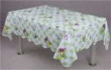 Tablecloth plástico do PVC do revestimento protetor não tecido barato da alta qualidade LFGB (JF0023)