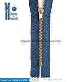 Chiusura lampo d'ottone del metallo di 3# C/E per i jeans