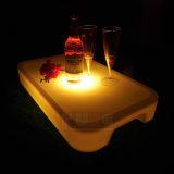 Cassetto ricaricabile del servizio del vino illuminato LED della mobilia della barra con telecomando di WiFi