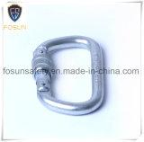 Aleación de acero de bloqueo Mosquetón de White zincado