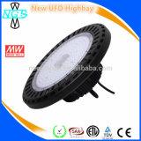 Indicatore luminoso della baia del UFO LED di illuminazione 100W 200W della fabbrica del Ce dell'UL RoHS di alto potere alto