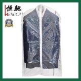 Sacchetto di indumento riutilizzabile poco costoso trasparente libero di PEVA